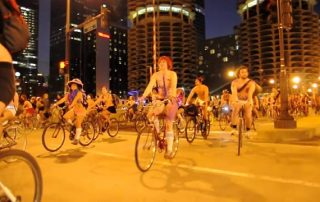 rent bike for world naked bike ride chicago