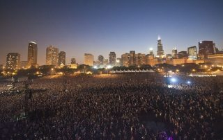 Lollapalooza at night