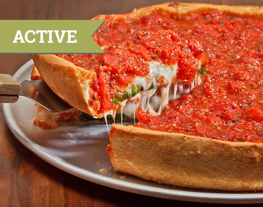 Chicago Deep-Dish Pizza